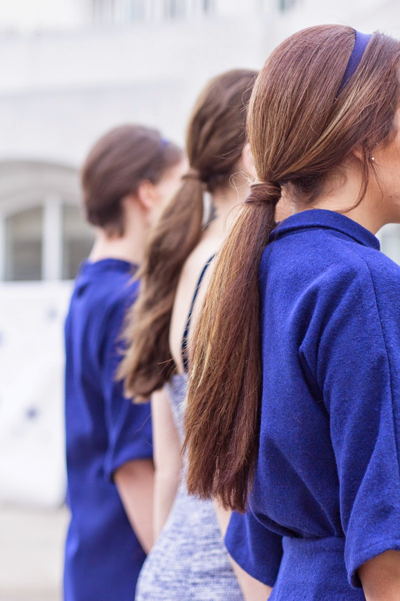 BACKSTAGE BEAUTY: LOW PONYTAILS & WISPY HAIR STYLING – ALYSSA NICOLE FW14 PRESENTATION