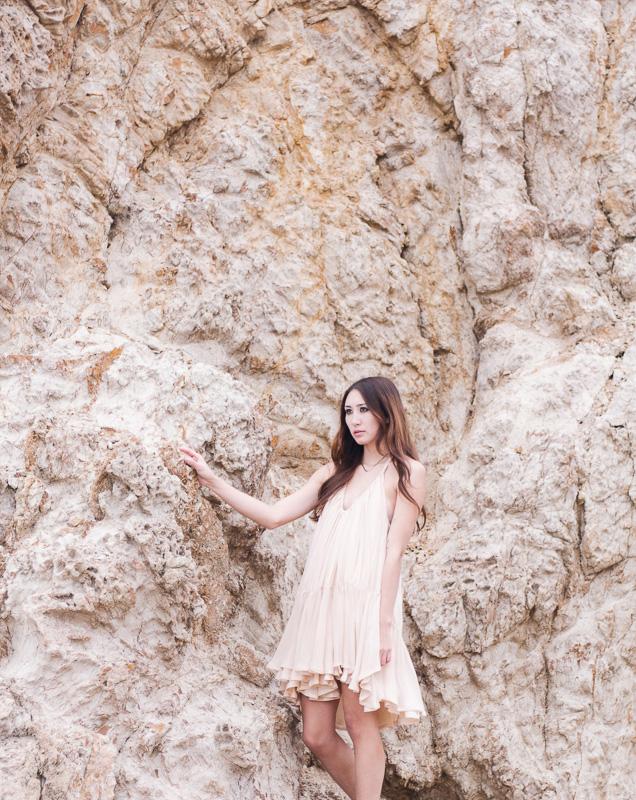 Coastal Breeze Alyssa Nicole Silk Tent Dress California Style