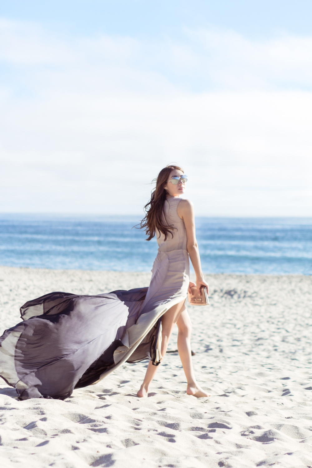 Seaside Gleaming Fall 2015 Ombre Gown 1