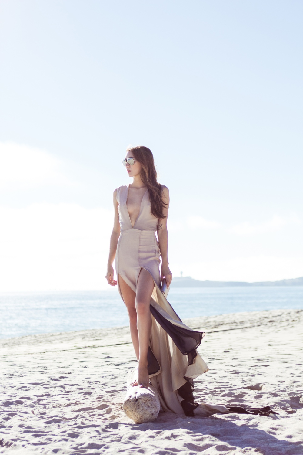 Seaside Gleaming Fall 2015 Ombre Gown 2