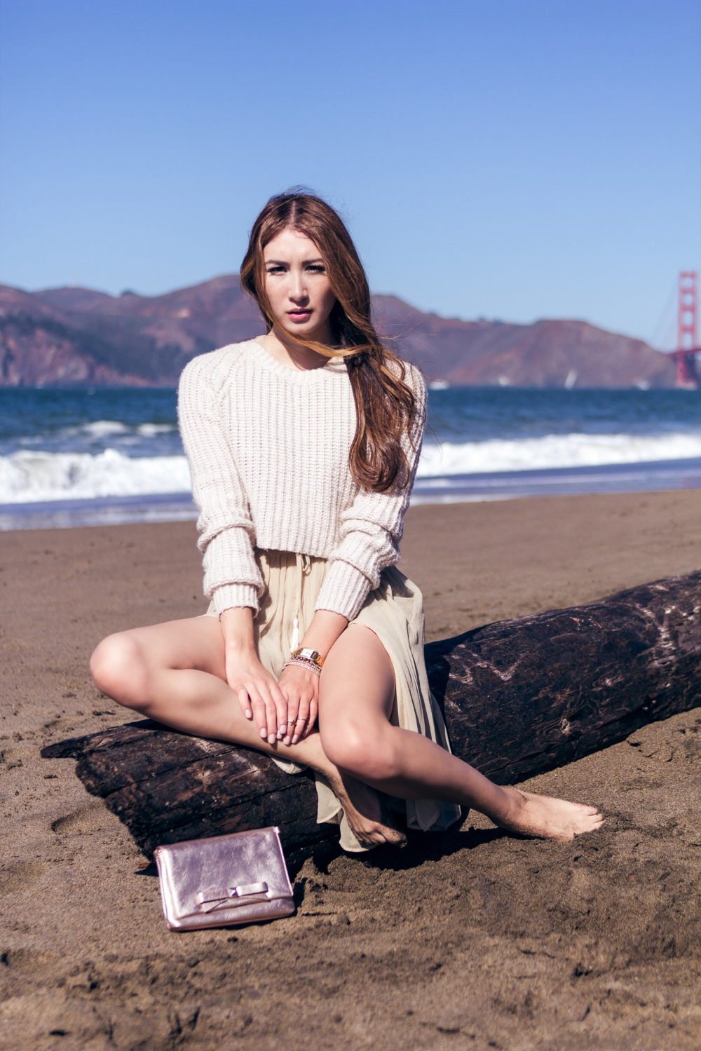 Sweater Weather Alyssa Nicole Dress Golden Gate Bridge 3