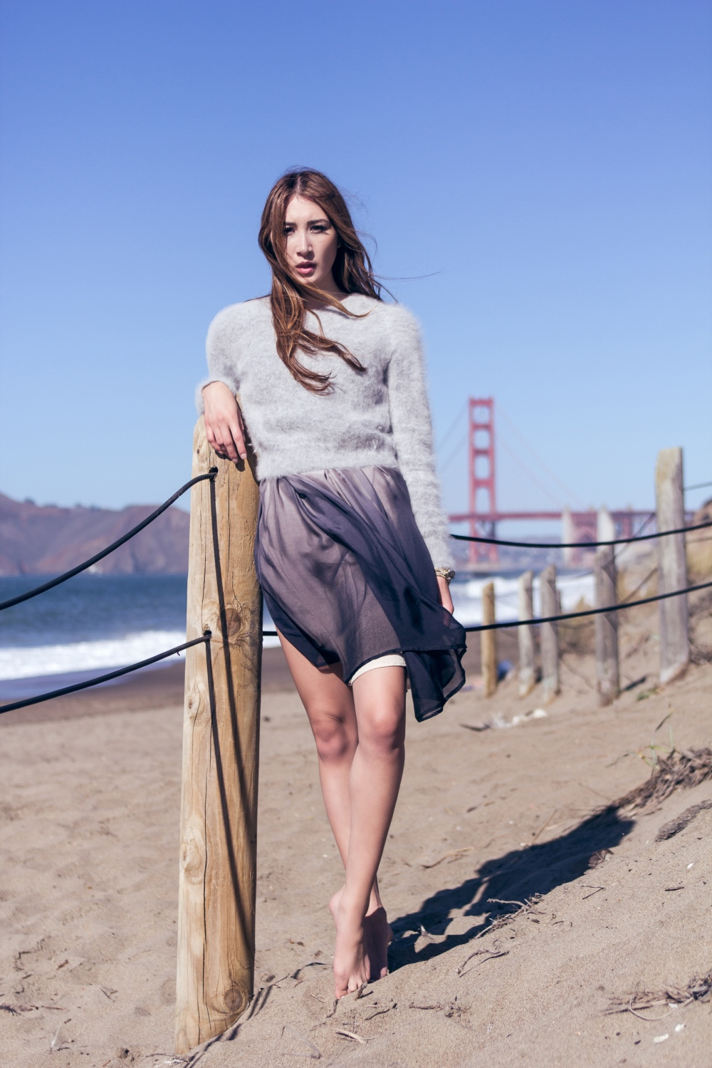 Winter Tide Alyssa Nicole Ombre Dress 6