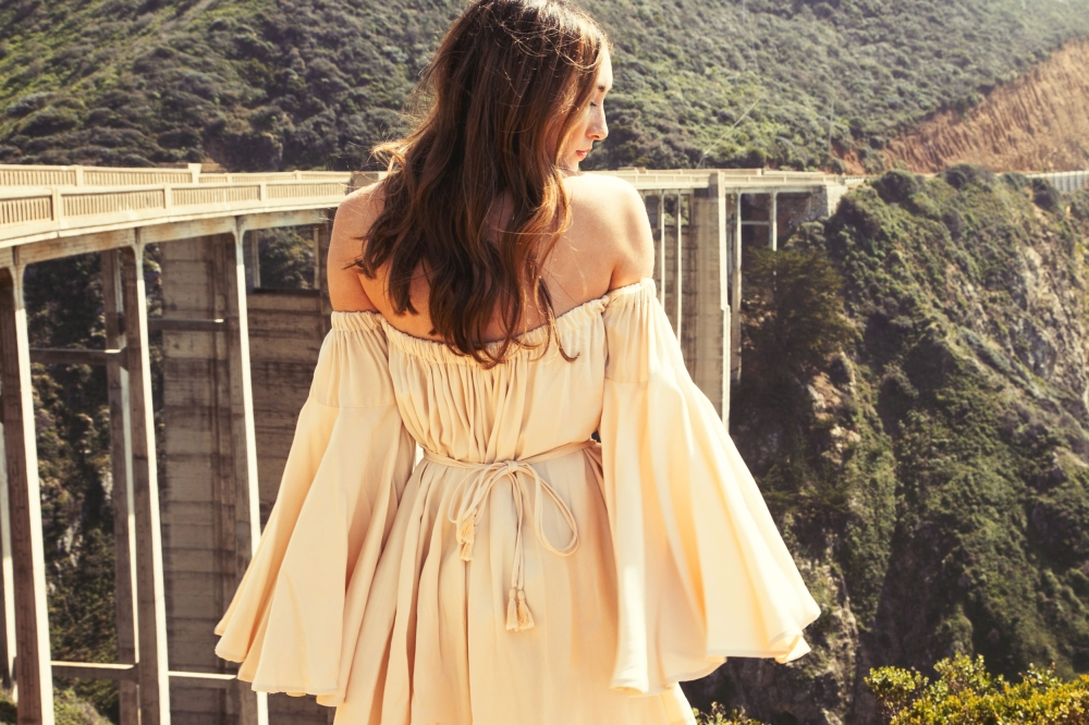 Lust for Life Big Sur Bixby Bridge Alyssa Nicole Elle Dress 2