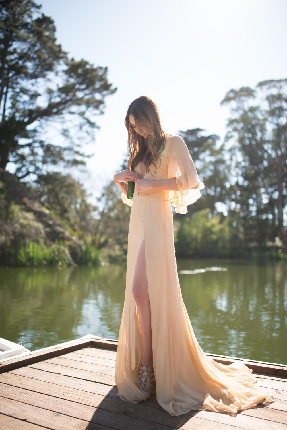 Alyssa Nicole Gown Stow Lake Golden Gate Park 3