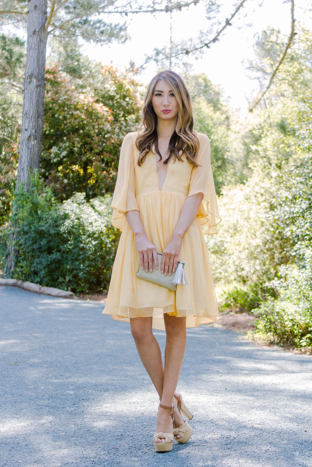 Alyssa Nicole Hadley Dress Wild Honey 2