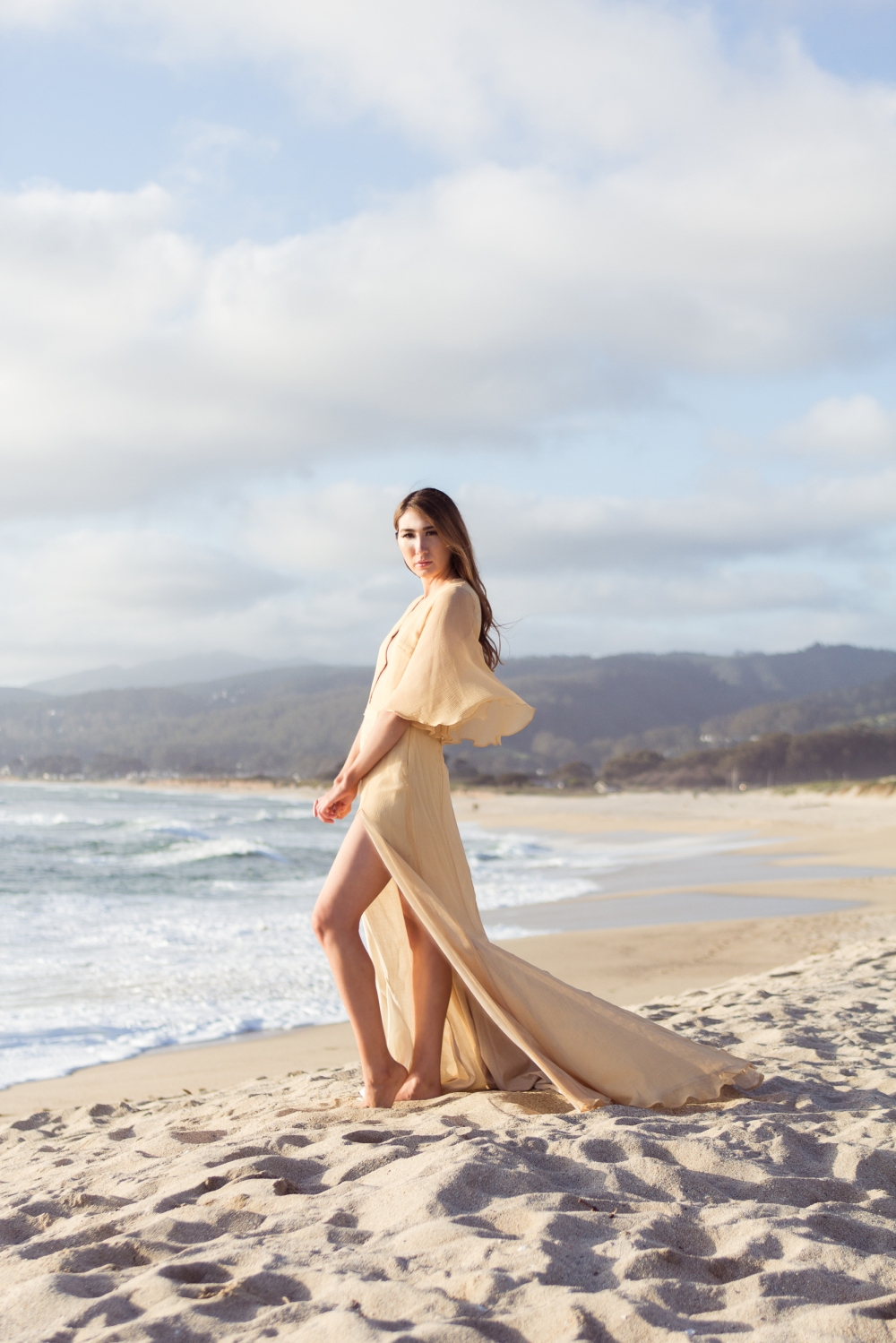 Of the Sea Half Moon Bay Alyssa Nicole Silk Gown1