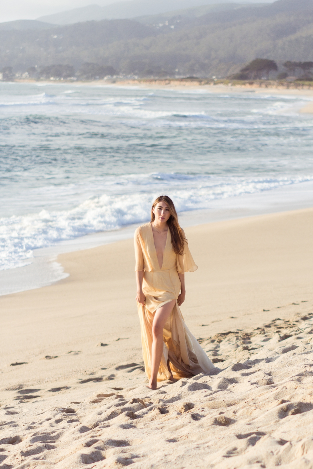 Of the Sea Half Moon Bay Alyssa Nicole Silk Gown2