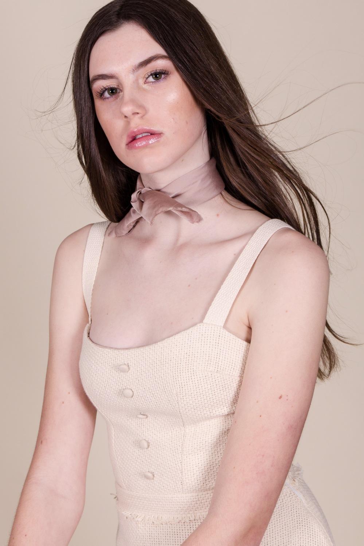 Alyssa Nicole Blush Scarf 1