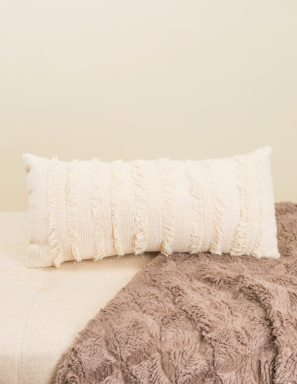 Talla Fringe Pillow