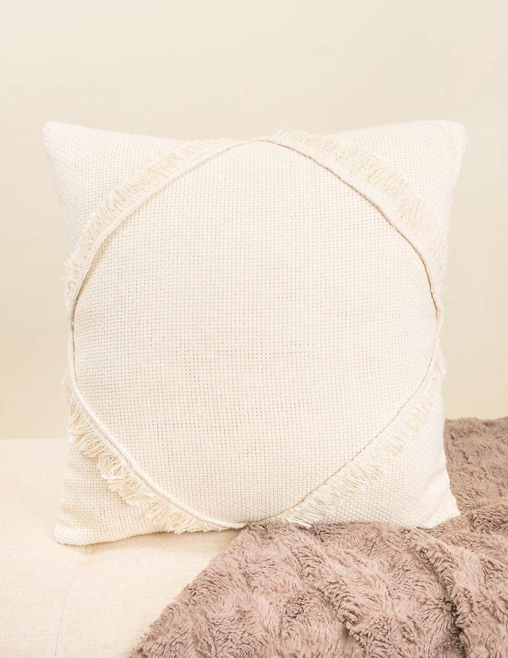 The Eda Fringe Pillow