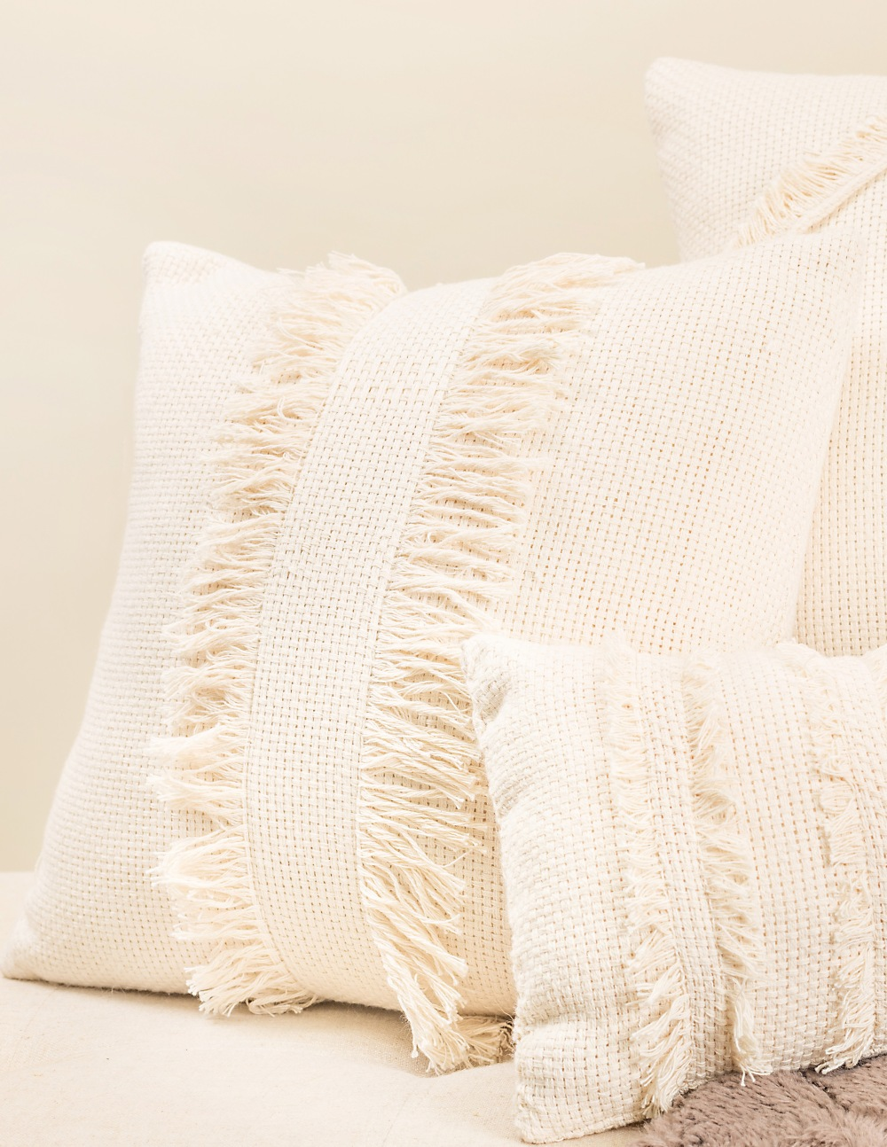 The Frida Fringe Pillow